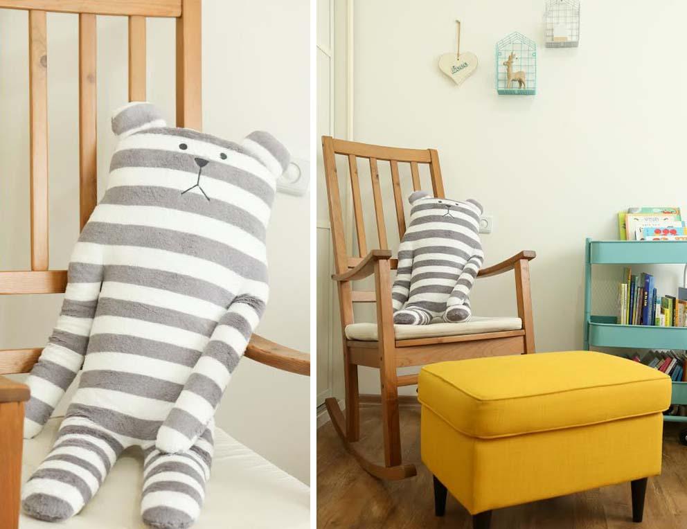 חדר ילדים בדירה של טל, צילום: אריאל זנדברג www.pnim.co.il