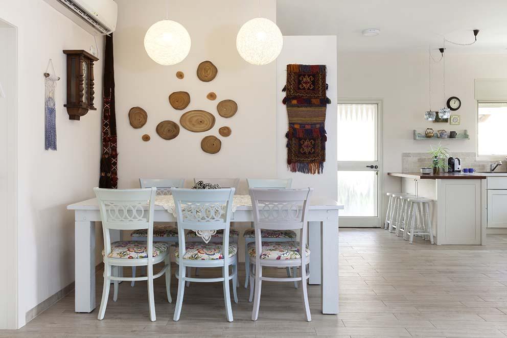 הבית של עידית, עיצוב קרן אורן, צילום הגר דופלט, www.pnim.co.il