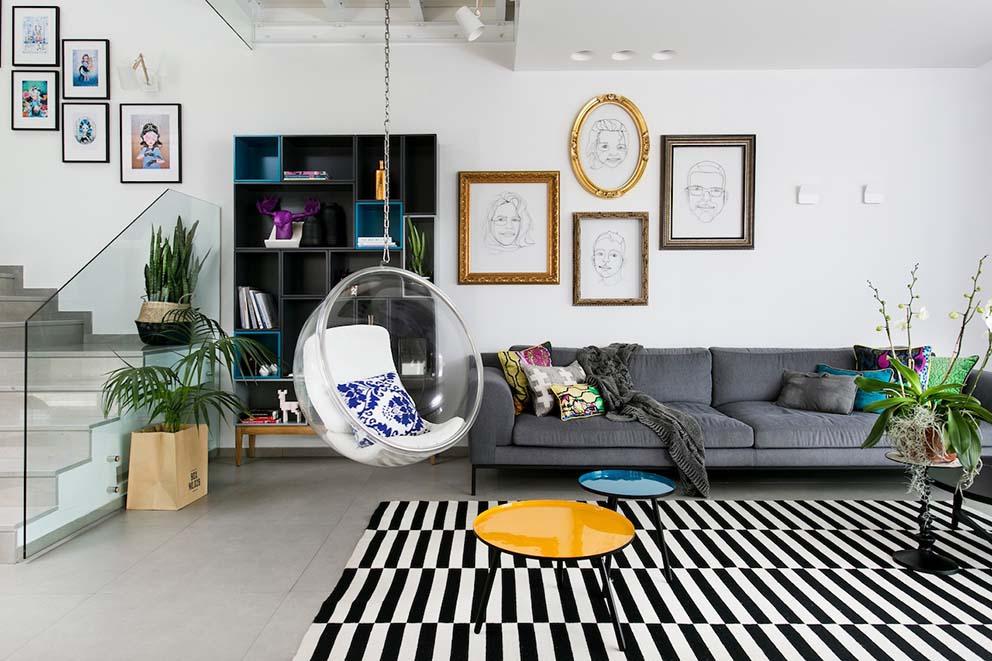 הבית של איריס ברקוביץ', צילום: שירן כרמל www.pnim.co.il