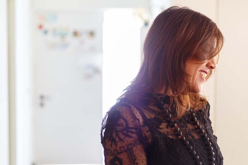 ביקור אצל שרון אלה, צילום: אורית ארנון www.pnim.co.il