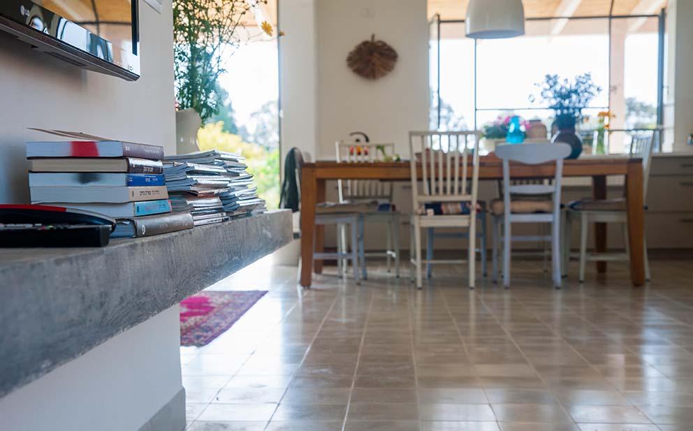הבית של נועה ואסי ביקום, צילום: גלעד רדט www.pnim.co.il