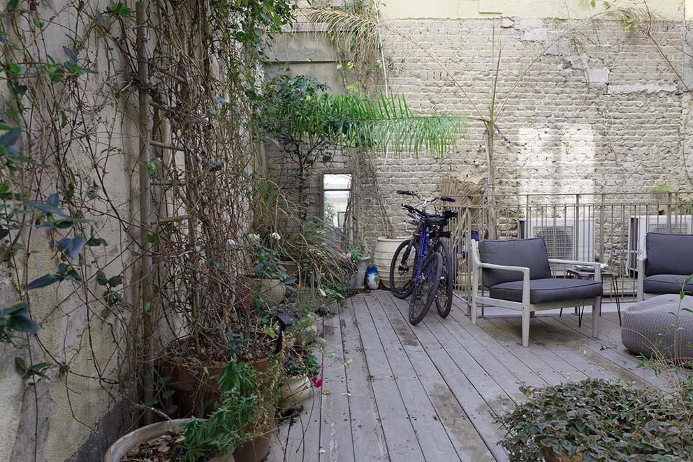 הבית של שלומית ורן בתל אביב, צילום: לימור הרצוג אהרוני www.pnim.co.il
