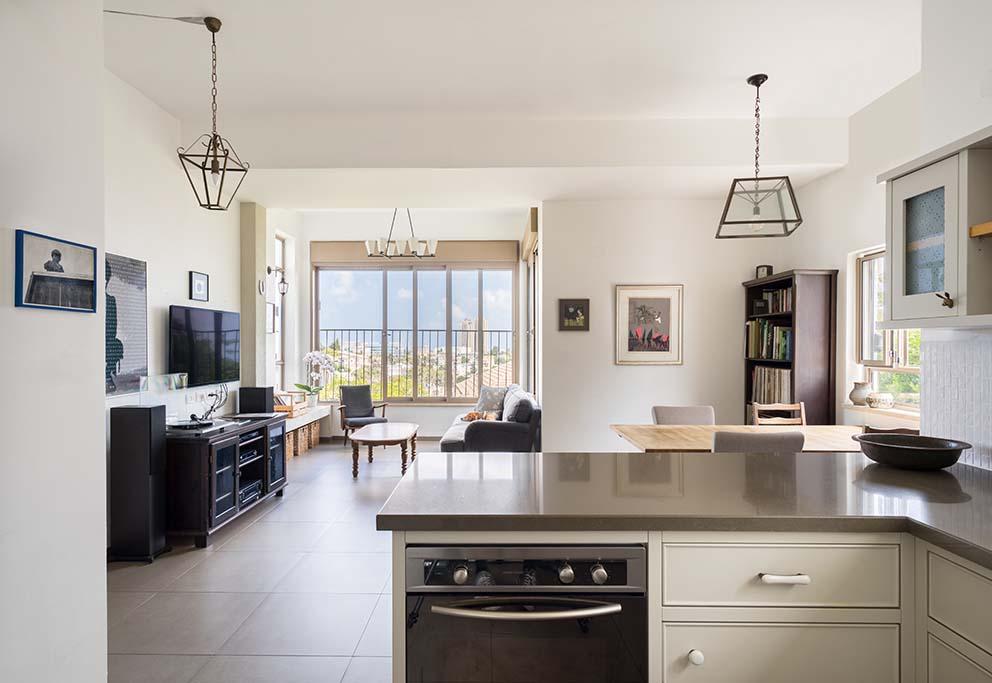הדירה של המעצבת דנה ברוזה, www.pnim.co.il