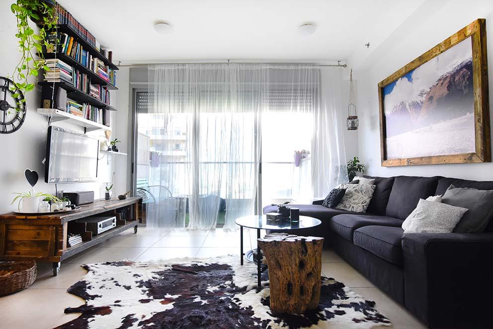 הבית של רעות וארנון, צילום: סיוון מויאל, www.pnim.co.il