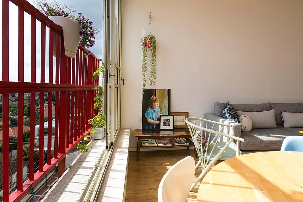 הבית של מיכל וולפסון, צילום: שירן כרמל www.pnim.co.il