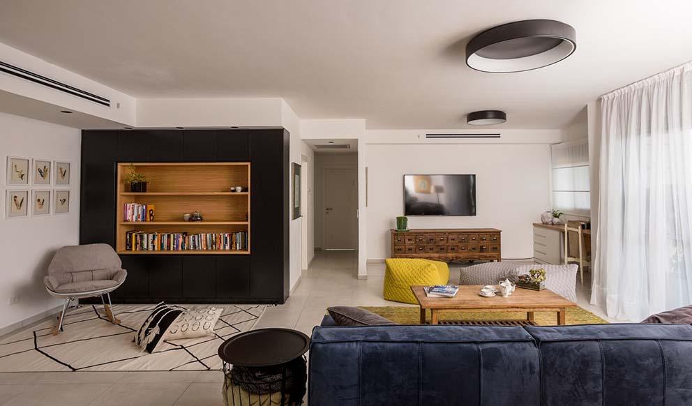 הבית של טל וולנסקי סגרה - מעצבת בחברת ריביירה, צילום: גדי סיארה