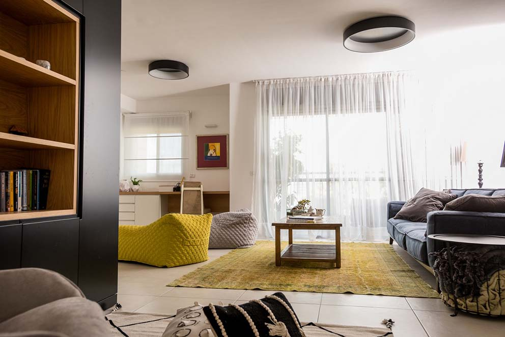 ביתה של טל וולנסקי סגרה - מעצבת בחברת ריביירה, צילום: גדי סיארה