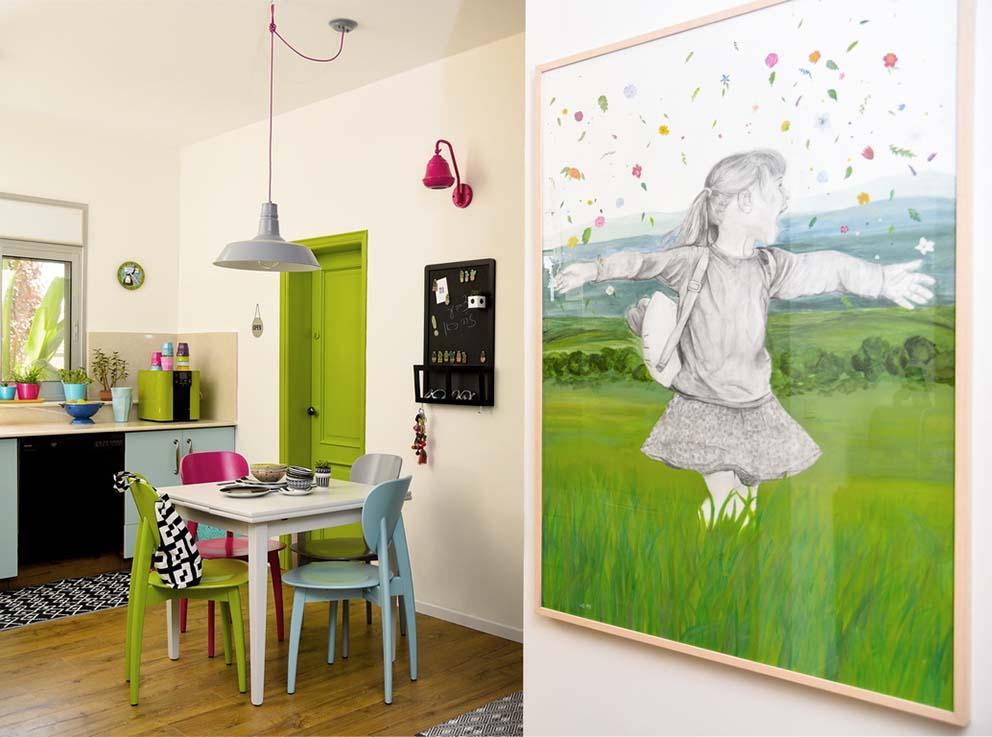 על המעצבת רונה קינן פיש, צילום: אורה כהן, www.pnim.co.il