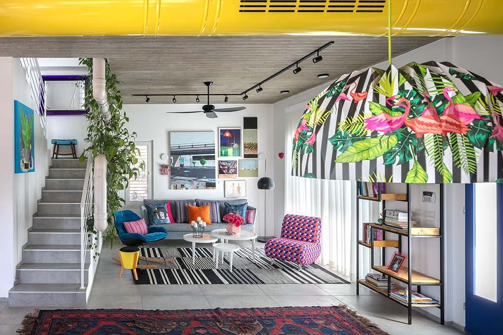 עיצוב: סטפני גריב, צילום: עוזי פורת, www.pnim.co.il