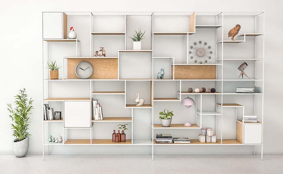 Bookcase - XY 1-1