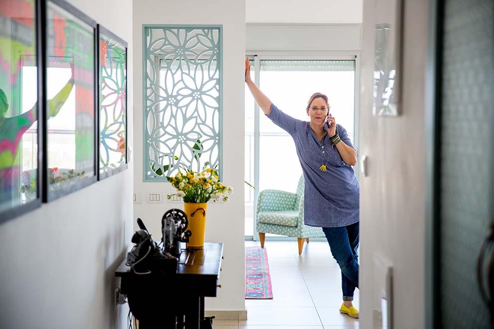 עיצוב: יעל אנגל בנו, צילום: יפעת יוגב, www.pnim.co.il