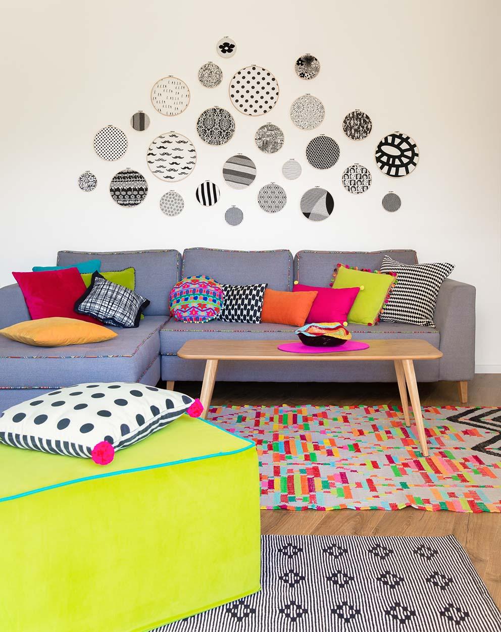 עיצוב: רונה קינן פיש, צילום: סיגל בר אל, www.pnim.co.il
