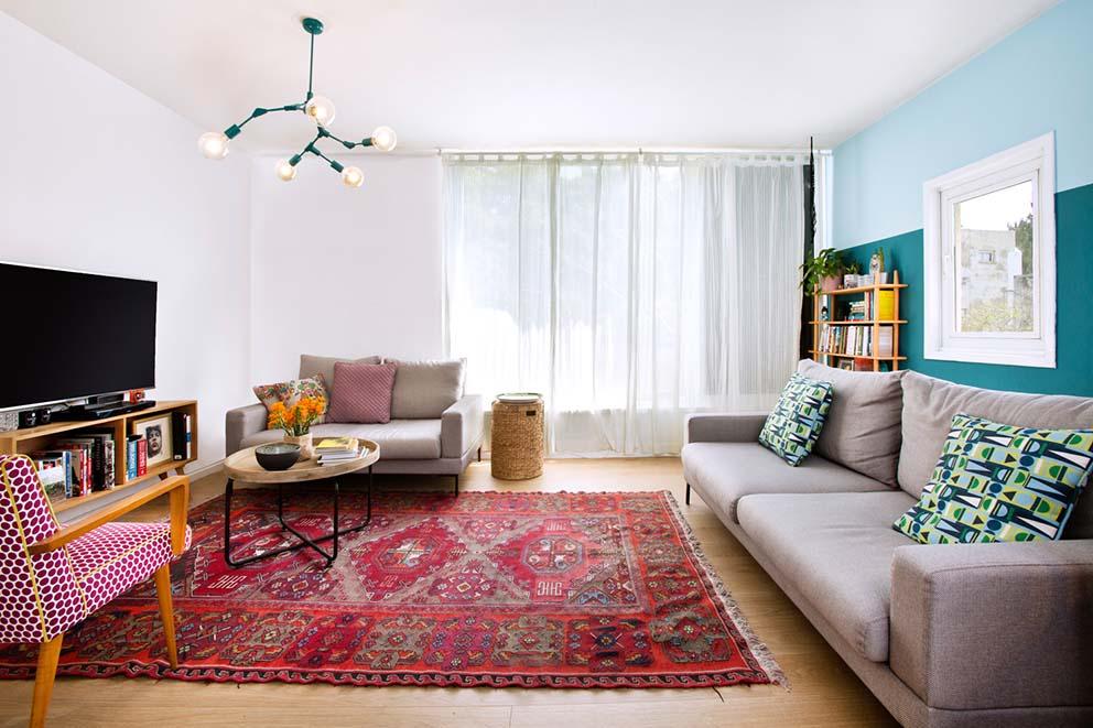 עיצוב: סטודיו דירתי-לי, צילום: יונתן תמיר, www.pnim.co.il