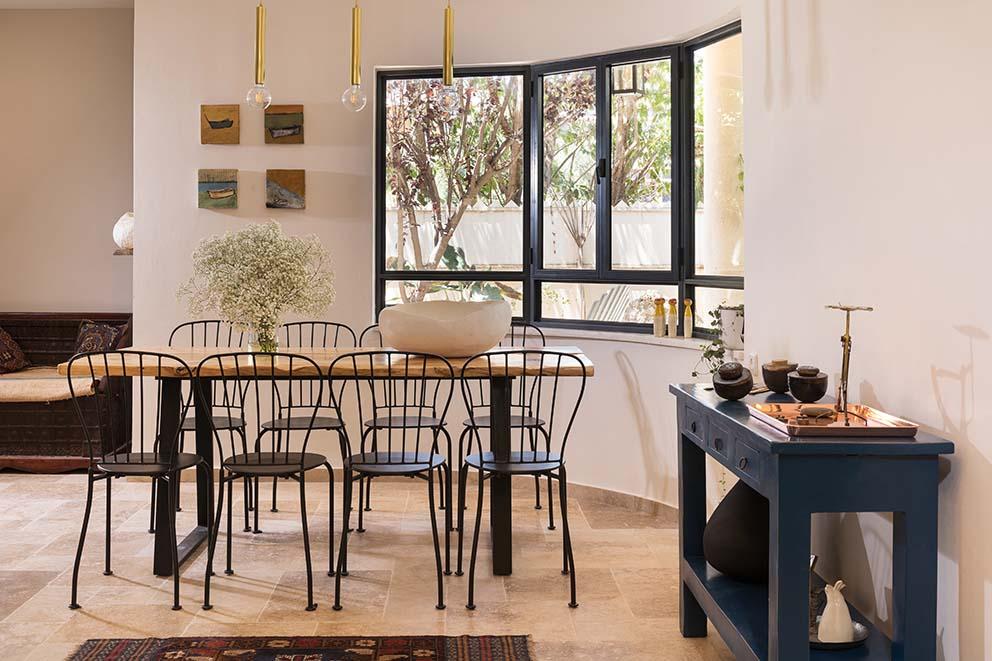 עיצוב: ענת פריימן שחר, צילום: רועי מזרחי, www.pnim.co.il