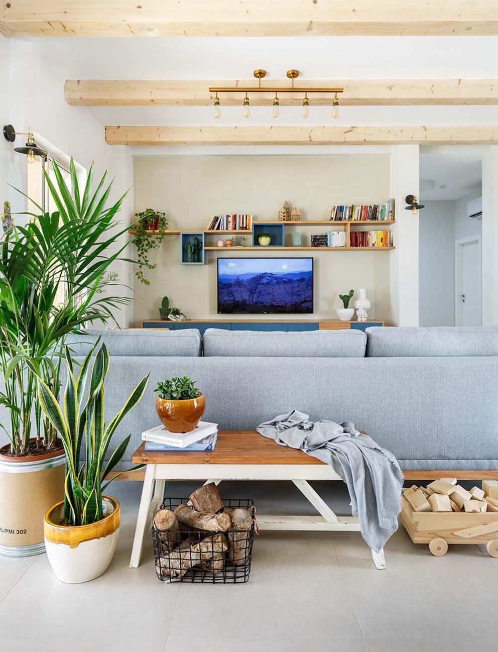 עיצוב: נגה פרשני, צילום: אורית ארנון, www.pnim.co.il