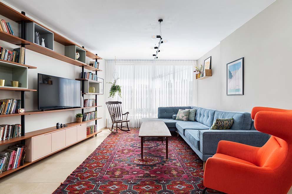 עיצוב: סטודיו דירתי-לי, צילום: אורית ארנון, www.pnim.co.il