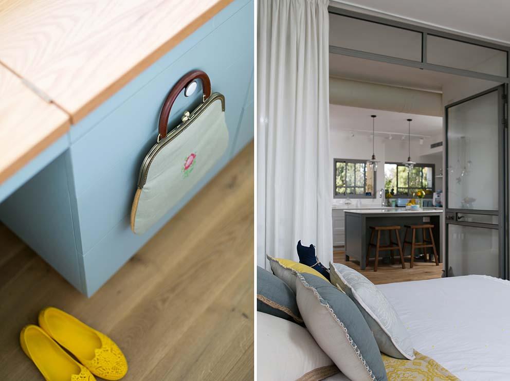 עיצוב: סטודיו מיה ורונית עיצוב ותכנון פנים, צילום: שירן כרמל, www.pnim.co.il