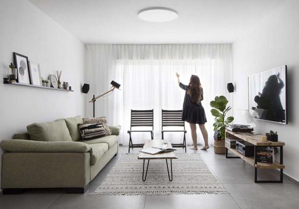 הבית של ליטל ומושיקו בתל אביב