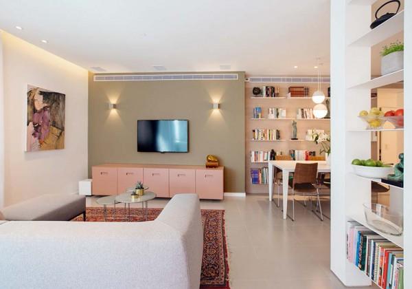 הבית של שירלי ואביתר בתל אביב